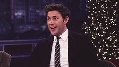When he made this face. | 34 Times John Krasinski Was The Most Perfect Man Alive
