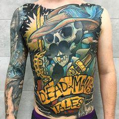 Dead Man's Tales by @luk21_21 at @artforcetattoo in Warsaw Poland. #dead #deadmanstales #luk21_21 #artforcetattoo #warsaw #poland #tattoo #tattoos #tattoosnob