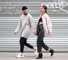 À ce qu'il paraît il y a du nouveau sur le blog... #couple #acnestudios by jaimetoutcheztoi