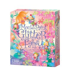 Mould & Paint Glitter Fairy: Amazon.co.uk: Toys & Games