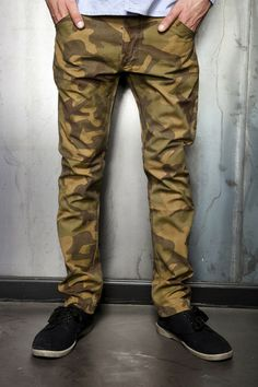 "PUBLICLABEL.THEHUNDREDS* ""ND6"" Skinny Fit Chino."