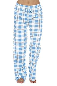 cacf81595 Just Love 100% Cotton Jersey Women Plaid Pajama Pants Sleepwear