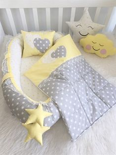 Modastra Grey Heart and Pink Babybest Set Baby Bedroom, Baby Boy Rooms, Baby Cribs, Baby Going Home Outfit, Baby Nest Bed, Baby Barn, Baby Sewing Projects, Baby Shower Decorations For Boys, Baby Pillows