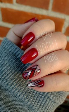 Nail Arts Fashion Designs Colors and Style Nail Arts Fashion Designs Colors and Style The post Nail Arts Fashion Designs Colors and Style appeared first on Berable. Nail Arts Fashion Designs Colors and Style Red Nail Art, Red Nails, White Nails, Hair And Nails, Fall Nails, New Nail Art Design, Red Nail Designs, Simple Nail Designs, Nails Design