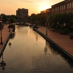 Caroll Creek, downtown Frederick