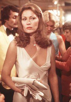 "Faye Dunaway in ""Network"" (1976) Best Actress Oscar 1976"