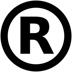 The registered trademark symbol provides notice that the preceding word or symbol is a trademark or service mark that has been registered with a national trademark office. A trademark is a symbol, word, or words legally registered or established by use as representing a company or product.