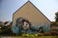 Alice Pasquini for the Crimes of minds Brest France