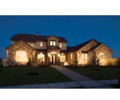 European House Plan with 3633 Square Feet and 3 Bedrooms from Dream Home Source | House Plan Code DHSW69461