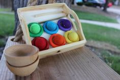 Color Matching Sorting Game Rings  A Waldorf and by ToSimplyPlay