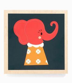 FERM LIVING - Tableau Elephant Elle