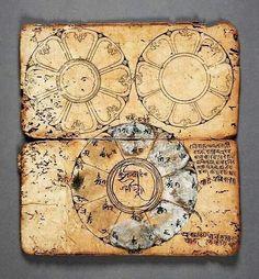 - Libro de Rituales y Mandalas  - Nepal , 1550-1600