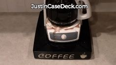 Coffee Stations – Just In Case Deck.com
