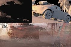 Making of The Crew Launch Trailer by Unit ImageComputer Graphics & Digital Art Community for Artist: Job, Tutorial, Art, Concept Art, Portfolio