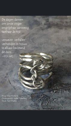 Prachtige samenwerking tussen kunstenares Ineke Tijsseling, dichter Rob Haster en Zivah Pure ☺️
