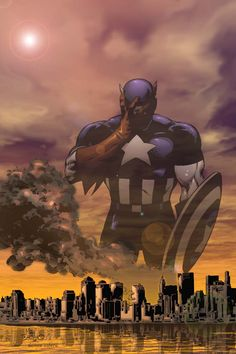 Captain America in Marvel's Heroes - Mike Deodato Jr. Marvel Comics, Dc Comics Art, Marvel Fan, Marvel Heroes, Jack Kirby, Comic Book Artists, Comic Artist, Comic Books Art, Mike Deodato Jr