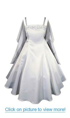 AMJ Dresses Inc Girls 4 to 16 Flower Girl Pageant Formal Dress (13 Colors)