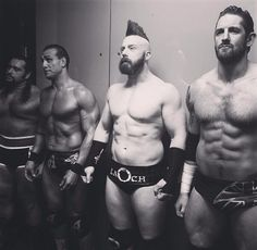 The League of Nations: Rusev, Alberto Del Rio, Sheamus, and Wade Barrett