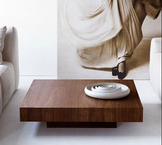 Momo Cocktail Table by Available in walnut, whitened ash, natural oak, lati wenge, ebony or matte lacquer. Request product sheet or visit our showroom to view more from the collection