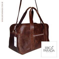 NEW! EN STOCK! BOLSO DE VIAJE JOSE Viajá bien acompañad@! Increíble bolso en cueros especiales de excelente terminación. Colores: Chocolate / Gris Medidas: 46x28x23 (fuelle) Precios: www.ericaparada.com.ar Pedidos: info@ericaparada.com.ar #ericaparada #bolsodeviaje #cuero #premium