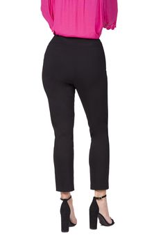 031950adf61 Fundamental Things Women's Pull On Comfort Slim Ankle Pant with Tummy  Control and Luxe Fabric Black Size 18    Click on the image for additional  details.