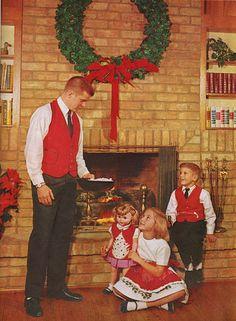 1966 Mid Century Modern Christmas Decor Crafts Book Eames Era on eBay