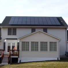 Solar panels a must!
