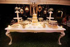 Mesa de postres para bodas clásicas / Classical candy bar #Wedding #Hacienda #Yucatán #Boda