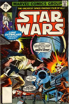 Marvel Star Wars #5, 1977