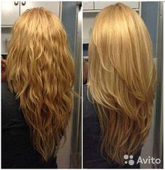 Как на длинные волосы сделать каскад