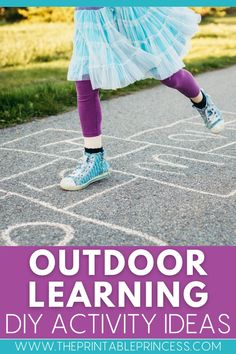 Ready to head outside and get some fresh air with your students? Try out these outdoor learning ideas and outdoor learning games, perfect for skill practice, spiral review and for some Total Physical Response when the weather warms up!