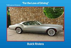 The Buick Riviera was manufactured from 1963 through 1999 by General Motors. It was in a class known as personal luxury cars. Ford had enjoyed enormous success with the introduction of the Thunderbird and the Riviera was designed to compete directly in this class.