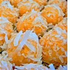 Coconut Rum Balls 1 (12 ounce) package vanilla wafers, crushed 1 1/3 ...