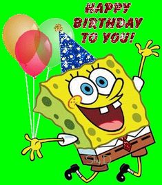 spongebob birthday cards for facebook 13 Fun Birthday Greetings to