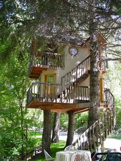 ˚Treehouse in Utah