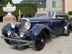 Bentley 4.25 Litre Drophead Cpe by Barker • 1937 | by classicmaster