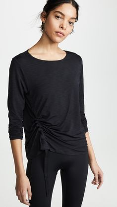 Find and compare Joan Top across the world's largest fashion stores! Free Clothes, Clothes For Women, China Fashion, S Models, Lounge Wear, Active Wear, Long Sleeve Tees, Tunic Tops, How To Wear