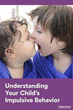 Understanding your child's impulsivity #ADHD