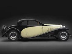 1929 Bugatti Type 46 Semi-Profile Coupe... I had a Hotwheel like this as a kid.