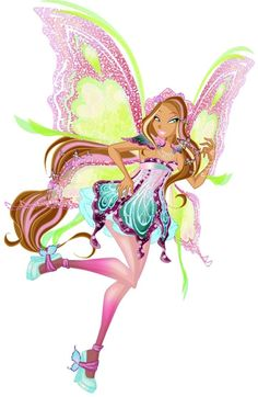 Flora Butterflyix - The Winx Club Fan Art - Fanpop Crafts With Pictures, Art Pictures, Fantasy Dragon, Fantasy Art, Fairy Wallpaper, Flora Winx, Fairy Coloring, Fairy Princesses, Mythical Creatures