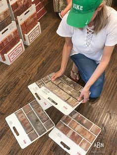 So many choices to pick from! If you're struggling with how to choose brick for your home, start by deciding on a color theme and go from there! Stone Exterior Houses, Stone Houses, House Exteriors, Pick A Brick, Exterior House Colors Combinations, Build Dream Home, Brick Colors, Brick And Stone, Home Repair