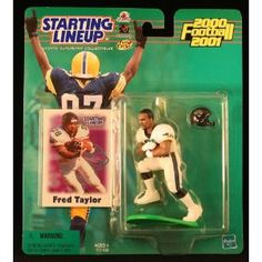 FRED TAYLOR / JACKSONVILLE JAGUARS 2000-2001 NFL Starting Lineup Action Figure & Exclusive NFL Collector Trading Card (Toy)  http://ruskinmls.com/pinterestamz.php?p=B005LD4NR2  B005LD4NR2