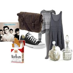 """Violet harmon (When she went to the school about tate)"" by ahsstyle on Polyvore"
