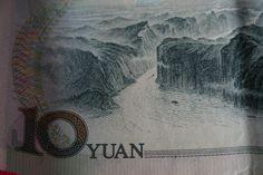billet de 10 yens Escale à Pekin, 2008. charlotte Laforgue