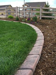Image result for Cheap Driveway Edging Ideas
