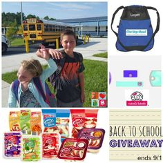 Back to School Giveaway from @havingfunsaving !