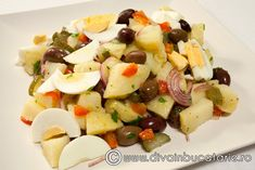 salata-orientala-de-iarna Oriental Salad, Fruit Salad, Potato Salad, Potatoes, Ethnic Recipes, Festive, Food, Salads, Fruit Salads
