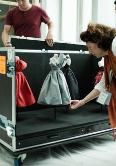 mini dresses Dior at Harrods - Le Petite Theatre