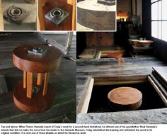 Euan Craig's new studio in Japan, moved and rebuilt after the earthquake and tsunami two years ago. The beautiful kickwheel was one of Shoji Hamada's, gifted to Euan by Hamada's grandson.