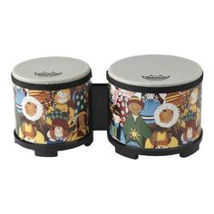 Remo Rhythm Club Bongo Drum - Rhythm Kids, Remo Rhythm Club Bongos are a fun, affordable way to add the unique flavor of bongos to your drum circle, classroom or other musical experience. Instrument Craft, Making Musical Instruments, Musical Toys For Kids, Kids Toys, Junior Drum Set, Best Drums, Music Crafts, Remo, Percussion